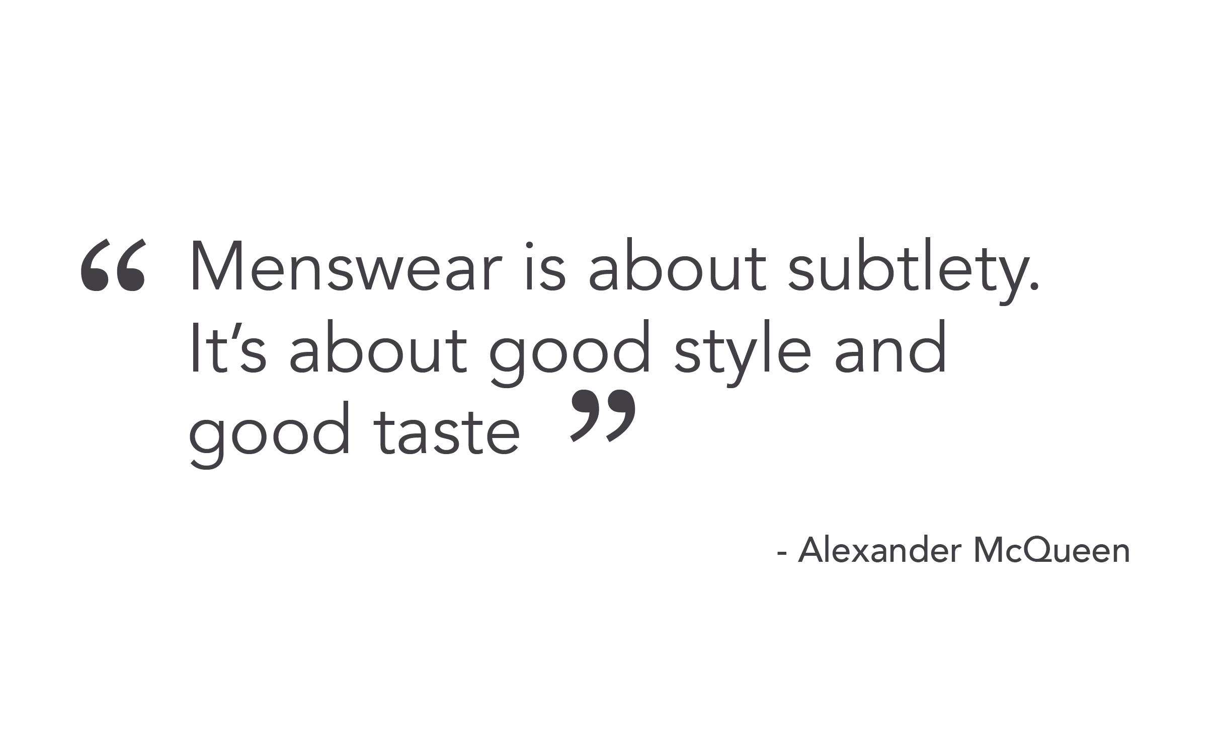 Alexander McQueen Quote - Threadweave